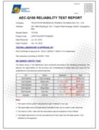 泰斗微电子TD1030-Q3003AB 芯片通过AEC-Q100 Grade2认证