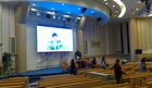 科鑫光電自動升降折疊led屏順利進入韓國市場