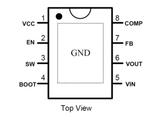 HT7166/HT7167,为便携式系统提供高效的小尺寸解决方案