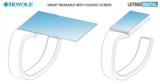 柔宇科技新专利:智能手表可折叠