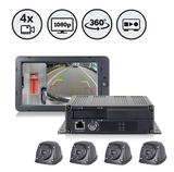 Rear View Safety推內置DVR的1080P高清攝像系統 360度無死角監測車輛及周圍環境