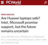 英特爾和微軟承諾將繼續向華為提供支持