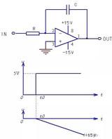 技術文章—積分電路原理:放大器與電容的變身