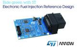 意法半导体和艾睿电子联合发布符合小型发动机排放新规的电子燃油喷射参考设计方案