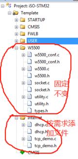 【STM32+W5500】 21,移植说明,以太网关键函数,