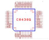 基于STM32的ch438串口扩展芯片使用