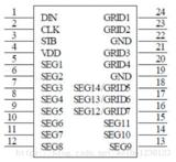 STM8控制4位LED数码管显示数字