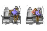 现代开发前座中央气囊,宣称可降低8成撞击伤害