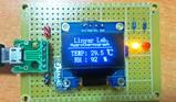基于DHT11的温湿计设计 OLED12864显示