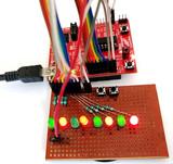 基于MSP430G2微控制器闪烁LED:使用数字读/写引脚
