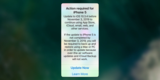 iPhone 5变砖头?苹果提醒:系统一定要更新到iOS 10.3.4