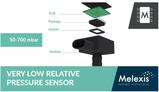 适用于内燃机和混合动力发动机EVAP系统的压力传感器IC