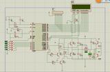基于单片机PWM的直流电机调速系统+H桥驱动电路驱动原理图