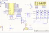单片机6位数电子密码锁源码+PCB+仿真原理图设计(可改密码