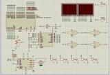 单片机智能窗帘proteus仿真图与代码