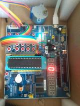STC89C52RC单片机控制步进电机仿真与程序
