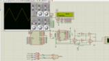 51单片机dds 低频函数信号发生器Proteus仿真程序