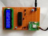 单片机GPS定位LCD1602液晶显示经纬度海拔及时间日期实物制作