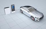 大众推移动充电概念机器人,可将移动充电桩拖到车旁