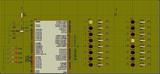 avrstudio 5 按键控制led移位