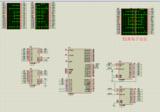 单片机16*16点阵汉字显示仿真加源码 用74hc595驱动芯片