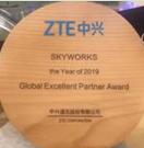 <font color='red'>Skyworks</font>被中国顶级制造商授予优质供应商称号