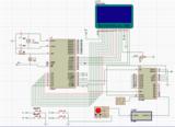 单片机+LCD12864数字示波器程序+Proteus仿真