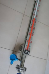防腐磁翻板液位计安装与维护