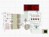 单片机步进电机转速控制程序(速度LED显示)