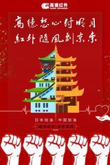 高德红外向日本捐赠百万红外防疫物资