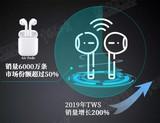 TWS耳机一飞冲天,引爆大产业