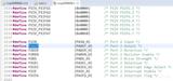 msp430寄存器地址与宏定义位置