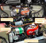 Model Y热泵系统中的零件集成化