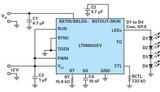 多功能<font color='red'>LED驱动器</font>在不同<font color='red'>LED</font>灯串电平输入电压下的作用