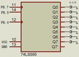 AT90S8515<font color='red'>单片机</font>SPI驱动74LS595源程序