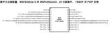 20引脚的<font color='red'>MSP430G2553</font>引脚功能表