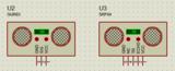 Proteus超声波测距仿真电路图+<font color='red'>单片机</font>源程序