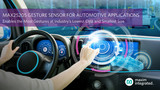 <font color='red'>美信</font>推出车用动态手势传感器 成本低于现有产品10倍/体积小75%