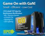 宜普<font color='red'>电源</font>转换公司(EPC)推出170 V eGaN®FET