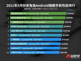 5月<font color='red'>Android</font>手机性能榜出炉:中端机突破50万分