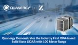 Quanergy展示业界首款基于OPA的100米范围固态<font color='red'>激光雷达</font>