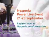 "Nexperia将于2021年9月21日-23日举办""Power Live"""