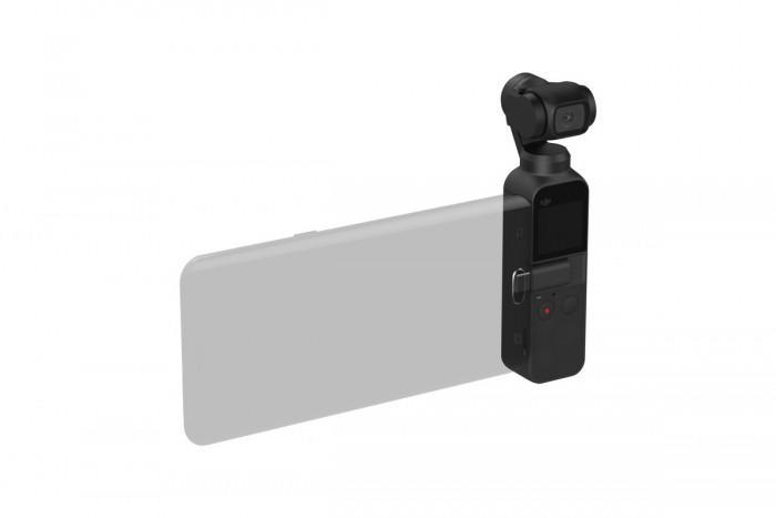 大疆推出口袋云臺相機 OSMO Pocket