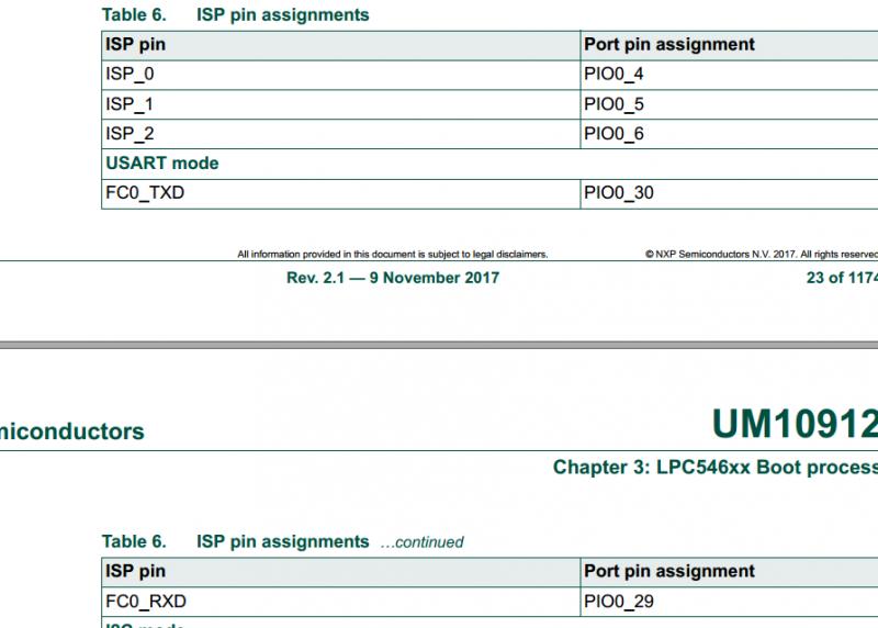 lpc54618通过flashmagic工具以isp方式下载程序出现的问题总结