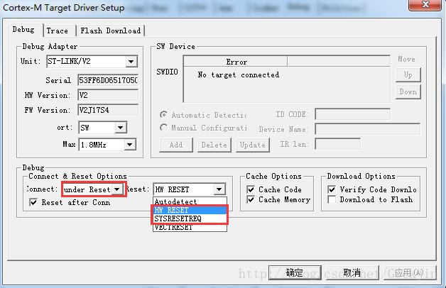 stm32单片机进入休眠模式后无法下载程序等问题的解决