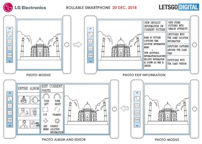 LG新专利曝光,能够圈起来的手机