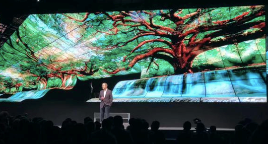 5G、8K、可卷曲OLED這些新技術將在CES亮相