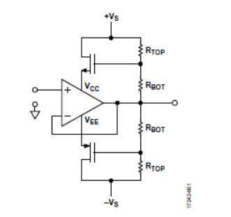 自举:简单实惠扩展运算放大器工作范围的方式