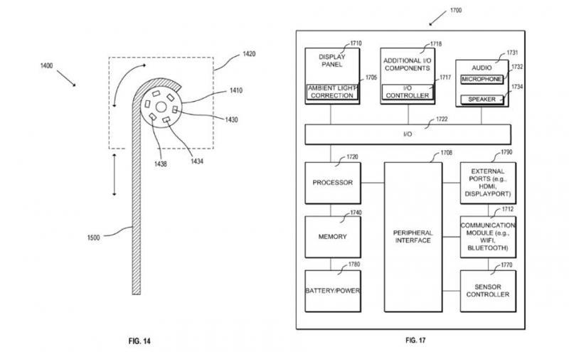 苹果申请卷曲屏专利 手表电视都能用