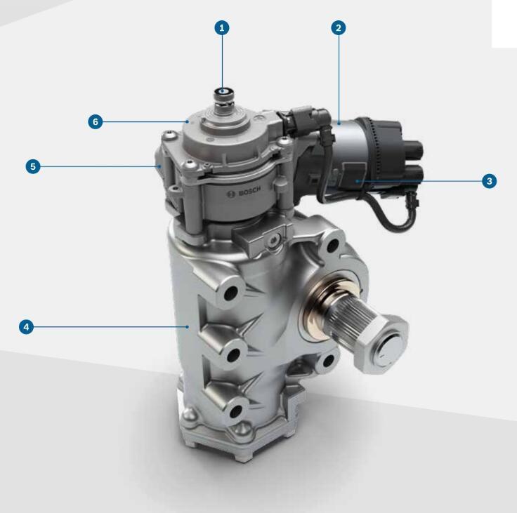 自动驾驶商用车的电控转向系统是如何工作的?